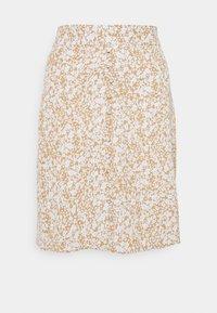 Modström - ISA PRINT SKIRT - A-line skirt - beige - 0