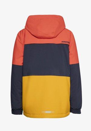 Snowboard jacket - orange fire
