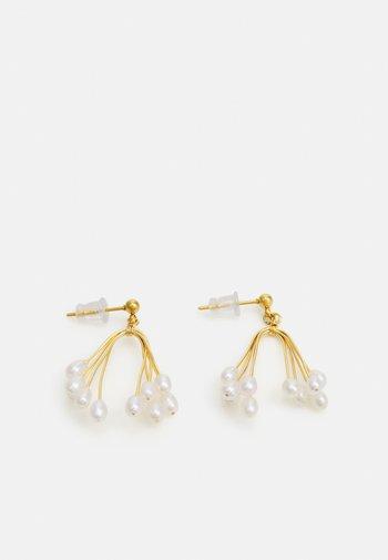 ANNESCA - Earrings - gold-coloured