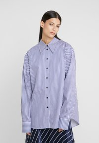 Rika - ALEX  - Button-down blouse - blue/white - 0