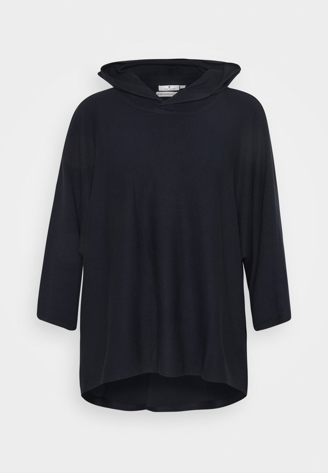 HOODED - Maglione - sky captain blue