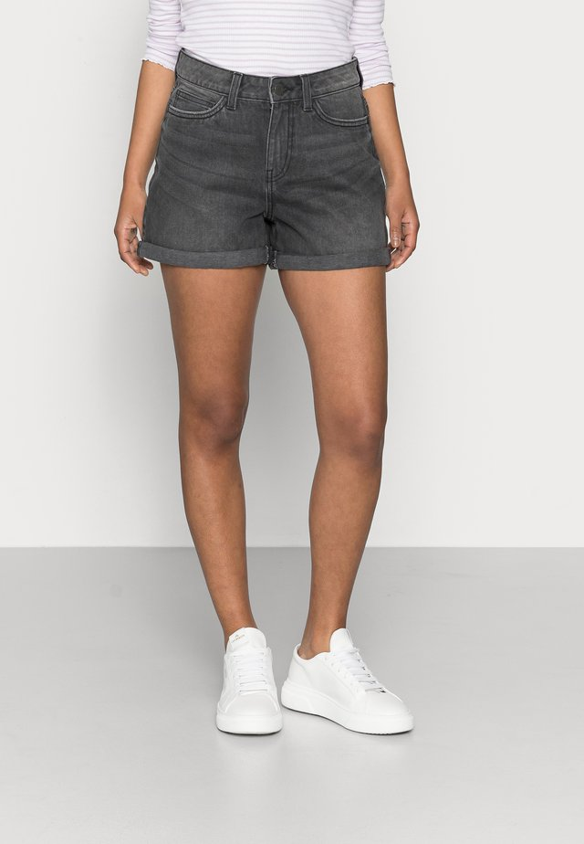 NMSMILEY - Jeansshorts - medium grey denim