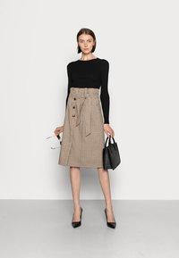 Love Copenhagen - ULLA SKIRT - A-line skirt - brown - 1