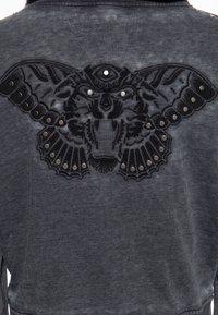 Queen Kerosin - Zip-up sweatshirt - schwarz - 4