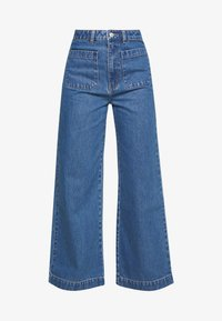 SAILOR JEAN - Flared Jeans - ashley blue