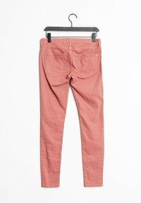 Mango - Slim fit jeans - pink - 1