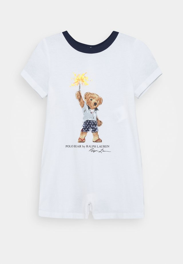 ONE PIECE SHORTALL - Overal - white