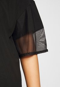 Missguided Plus - OVERLAY DRESS - Day dress - black - 5