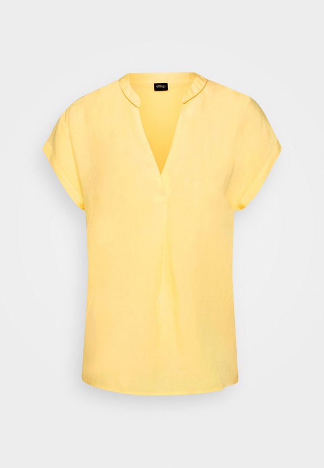 Blouse - sorbet yellow
