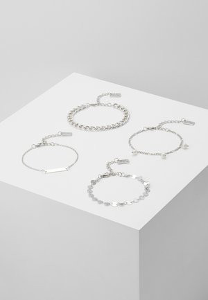 4 PACK - Bracelet - silver-coloured