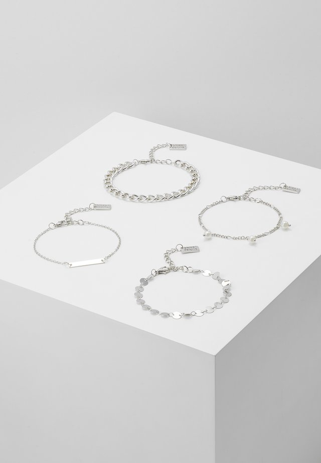 4 PACK - Bracciale - silver-coloured