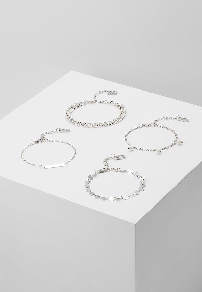 sweet deluxe - 4 PACK - Bracelet - silver-coloured