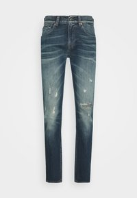 7 for all mankind - SLIMMY GUARD  - Jeans Tapered Fit - dark blue - 4