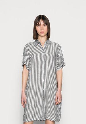 DRESS LINA - Košilové šaty - white/blue