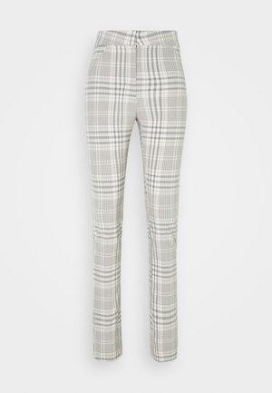 ALECIA TROUSER - Kalhoty - grey