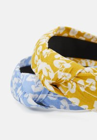 Pieces - PCVACCA HAIRBAND 2 PACK - Hair styling accessory - kentucky blue/yellow - 2