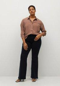Violeta by Mango - Button-down blouse - dunkelorange - 1