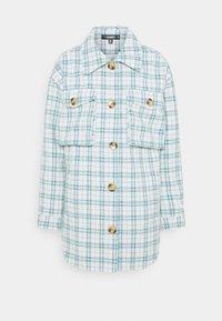 CHECK SHACKET - Summer jacket - blue