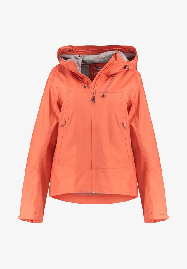 "KAIKKIALLA DAMEN TREKKING-JACKE ""ARJA"" - Outdoor jacket - orange"