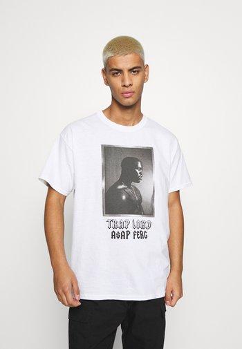A$AP FERG LORD - Print T-shirt - white