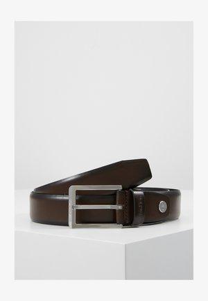 BOMBED BELT - Belt - brown