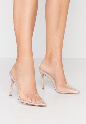 VEGAS - High heels - clear