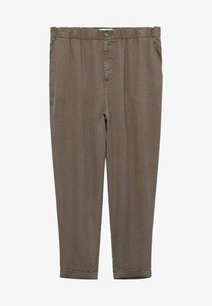 NAIROBI - Trousers - mittelbraun