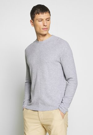 CLIVE - Long sleeved top - grey melange