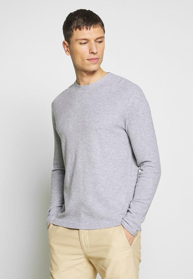 CLIVE - Langærmede T-shirts - grey melange