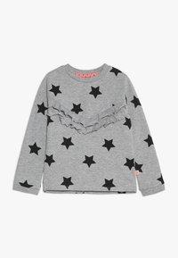 Lemon Beret - SMALL GIRLS - Sweater - grey melange as swatch - 0