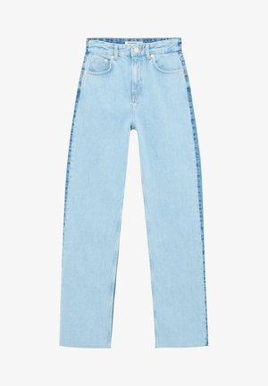 MIT COLOUR BLOCK - Straight leg jeans - light blue