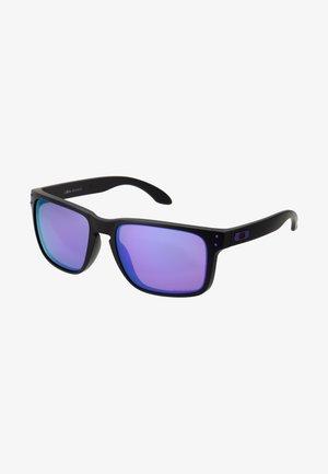 HOLBROOK - Sunglasses - matte black/violet