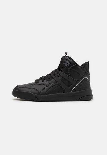 BACKCOURT MID UNISEX - Sneakers hoog - black/dark shadow/silver