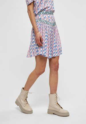 DIVYA  - A-line skirt - seedpearl cream