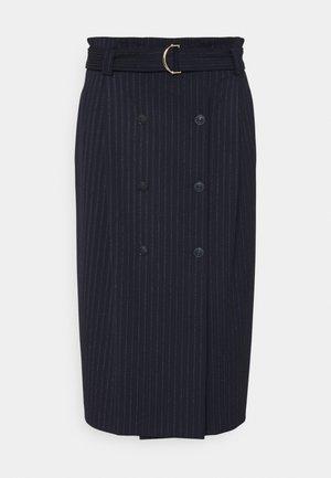 BIBITA - Pencil skirt - blu