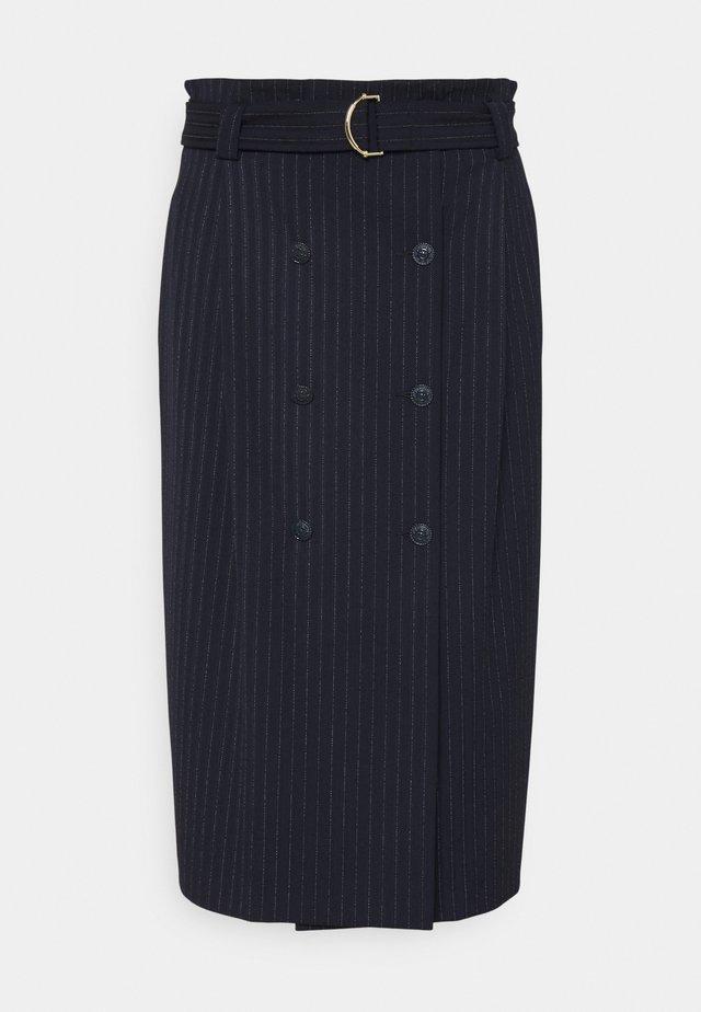 BIBITA - Pouzdrová sukně - blu