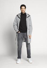 TOM TAILOR - MARVIN - Straight leg jeans - grey denim - 1