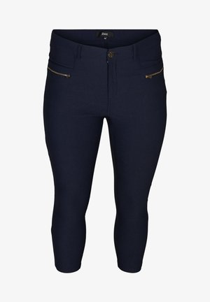 SLIM FIT - Trousers - night sky