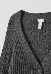 PULL&BEAR - Cardigan - mottled grey - 4
