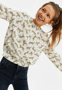 WE Fashion - MEISJES MET LUIPAARDDESSIN - Blouse - all-over print - 1