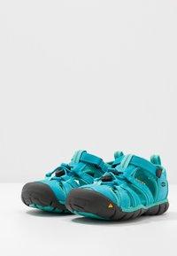 Keen - SEACAMP II CNX - Walking sandals - baltic/caribbean sea - 3