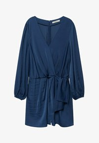 Violeta by Mango - COURT FLUIDE - Jumpsuit - bleu électrique - 4