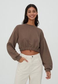 PULL&BEAR - Sweater - brown - 0