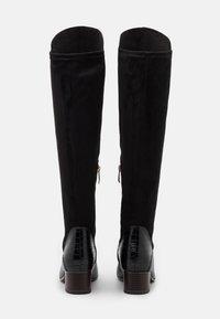 Tamaris - BOOTS - Kozačky nad kolena - black - 3