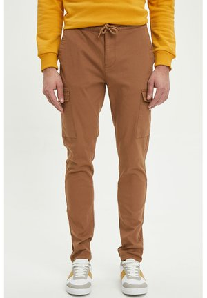 Cargo trousers - light brown