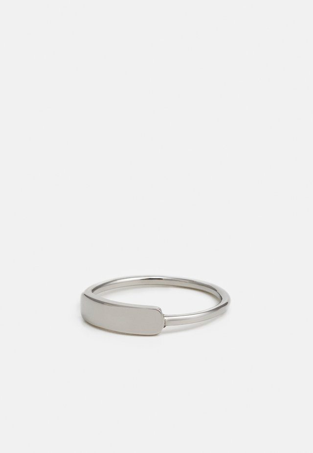 MARQUE UNISEX - Ring - silver-coloured