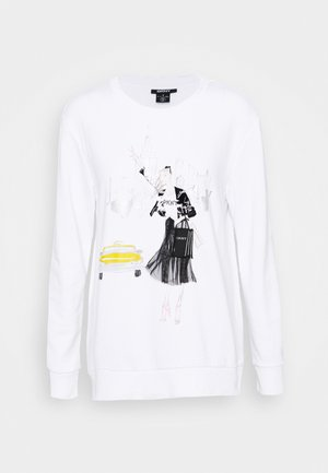 CAB CONVERSATIONAL - Sweatshirt - white