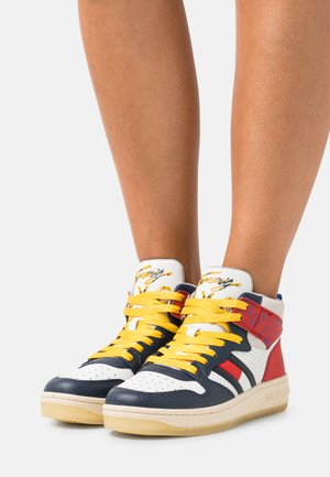 ELEVATED MID CUT BASKET  - High-top trainers - twilight navy