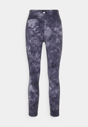 MARBLE 7/8  - Tights - periwinkle