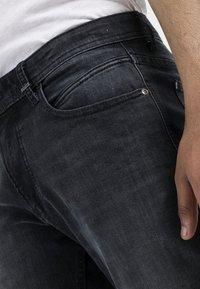 camel active - Straight leg jeans - black ink blue - 4